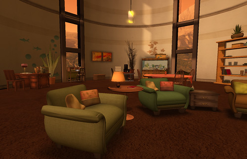 The offices in the Designing Worlds Studio in Garden of Dreams 2