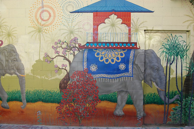 Elephants on Parade - Clarion Alley Mural