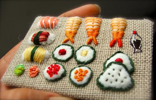 sushi ATC scale