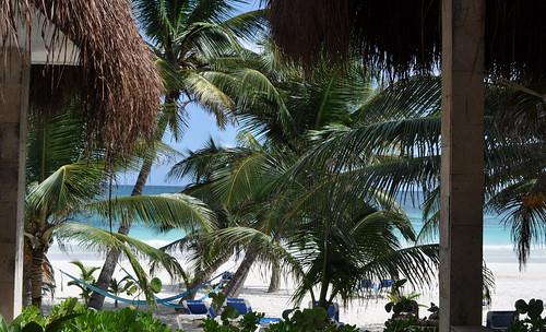 Tulum - Cabanas Tulum - beach view