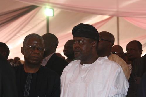 Aliko Dangote at Clara Oshiomole's Funeral in Edo State Nigeria by Jujufilms
