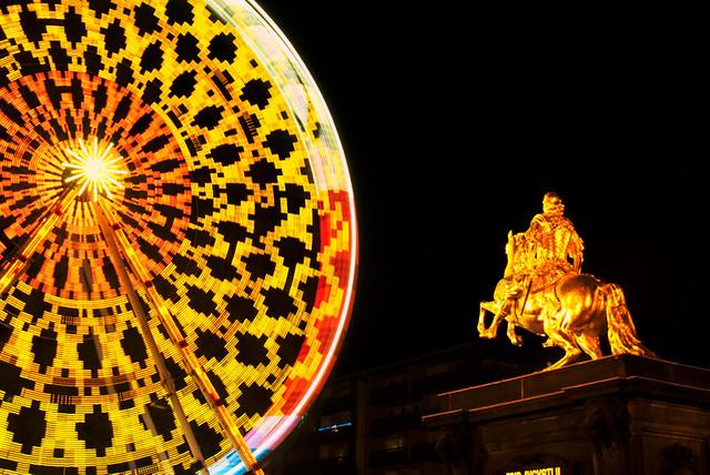 August der Starke und das Riesenrad