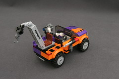 6864 The Batmobile and the Two-Face Chase - Truck 7