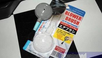 Blower brush - aksesori penjagaan kamera dslr