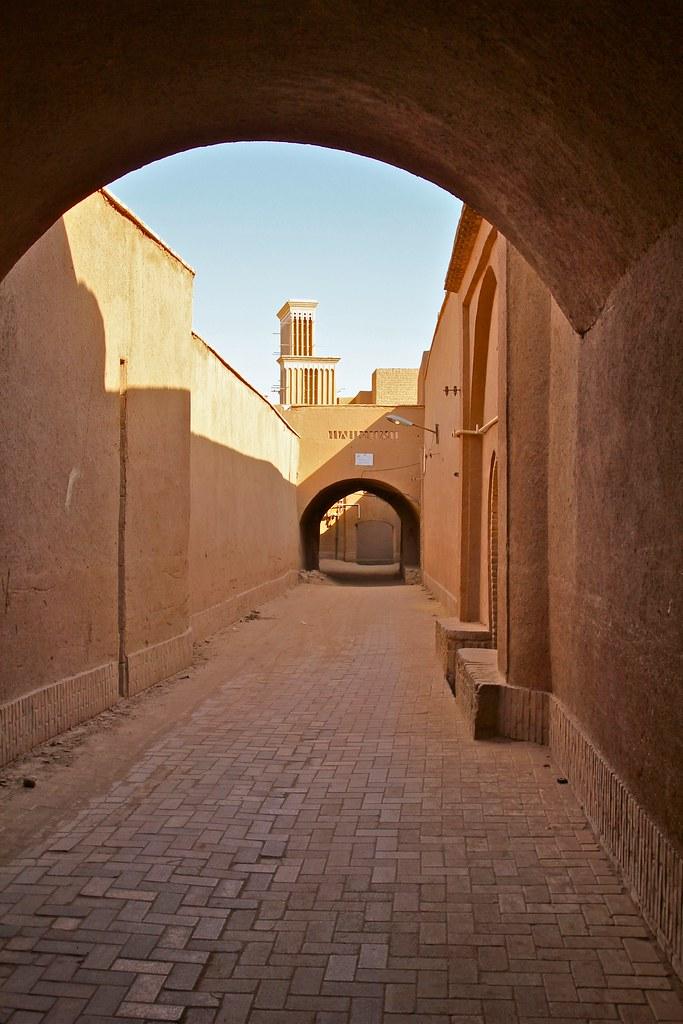 Alleyway in Yazd