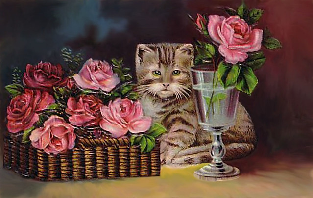 KittywithRoses