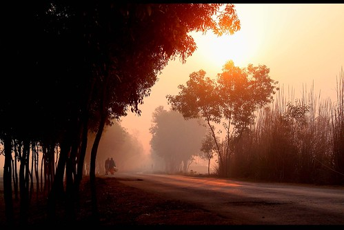 ranga matir pathe... by manwar2010