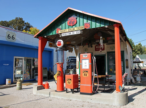 Sheas Gas Station - Route 66