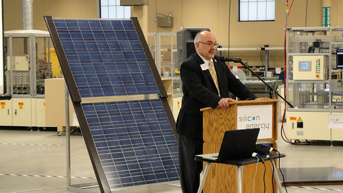Senator David J. Tomassoni shares his excitement - Solar on the Iron Range