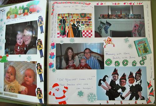 Christmas Scrapbook detail