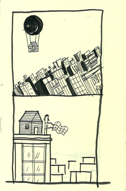 Boceto para 'Refugio'