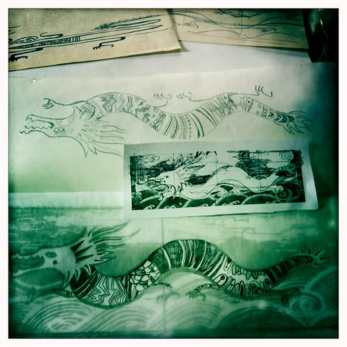 2012 New Yr Card - in progress