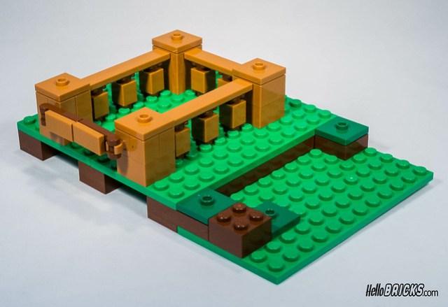 LEGO 21128 Minecraft The village
