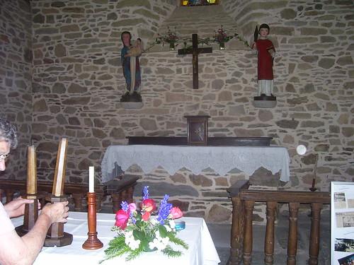 La Chapelle St Laurent préparation du pardon
