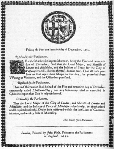 christmasban (1652)