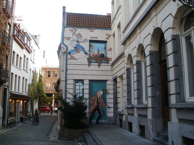 Pared de cómic, Bruselas