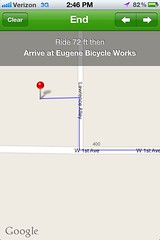 Bike Maps App - LBS End