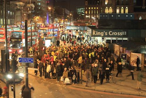 Big attendance at the Kings Cross Christmas Vigil