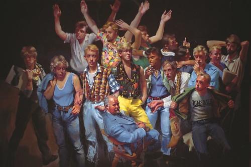 Mr Harrys - Robert Lenkiewicz -1983 by Pride in Our Past