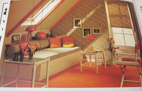 wonderful orange room