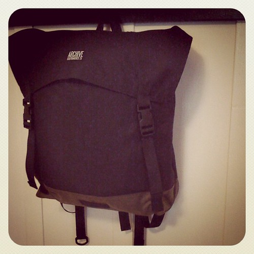 Flap backpack... Adding soon. by Archive Victor