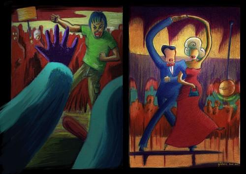 Totaliterra : Danses et Contredanse 1 (Un projet d'illustration-BD par Gilderic)