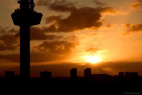 Sunrise Euromast Rotterdam