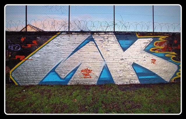 Hailey Park/Boiler House Grafitti Winter 2011