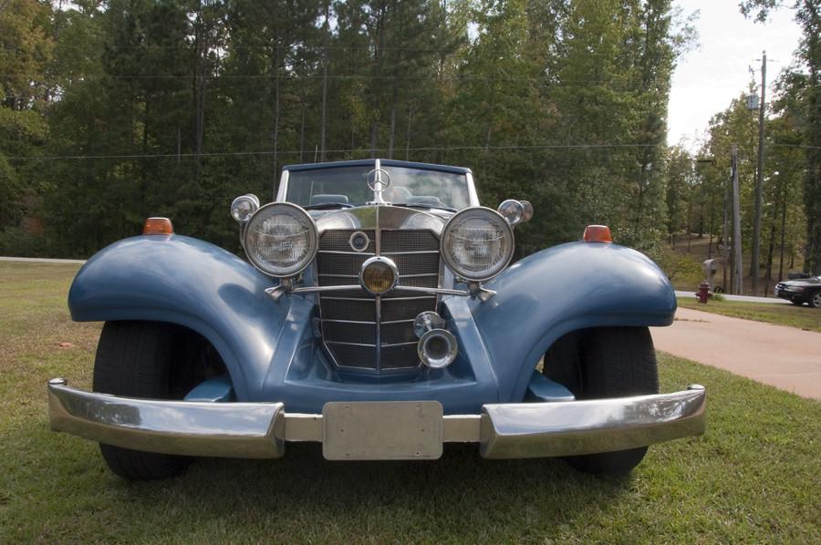 1934 500k Mercedes Heritage Motors Kit Frank J Penner
