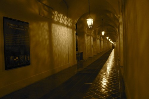 The Haunted Hallway