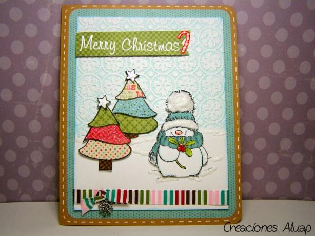Tarjeta navidad Jolly Friends - Christmas card