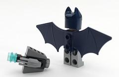 6858 Batman Detail