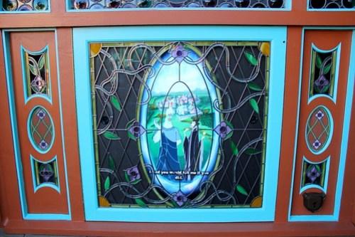 Hades and Maleficent - Fantasyland portal