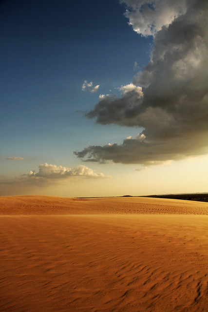 River of Sands over the Dunes