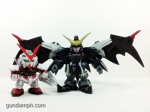SD Gundam Online Deathscythe Hell Custom Toy Figure Unboxing Review (18)