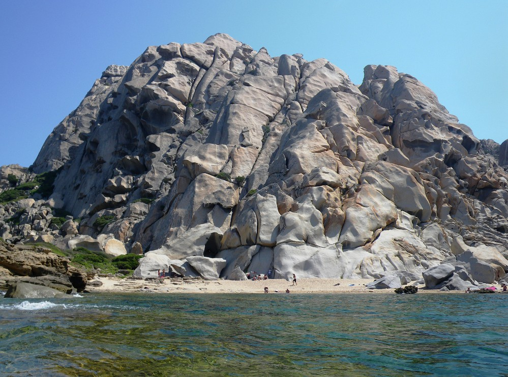 Capo Testa - graniti alla Valle della Luna e la spiaggia di Mezzo
