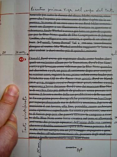 Fare i libri (a cura di Riccardo Falcinelli), minimum fax 2011. p. 125, (part.), 1