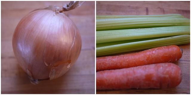 Kishke vegetables