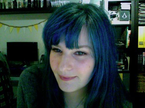 Blue Hair Redo