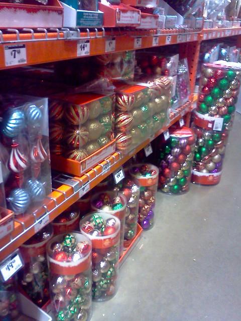 Home Depot - Martha Stewart ornaments