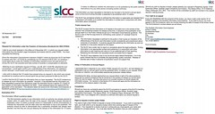 SLCC refusal of compensation amount awards FOI