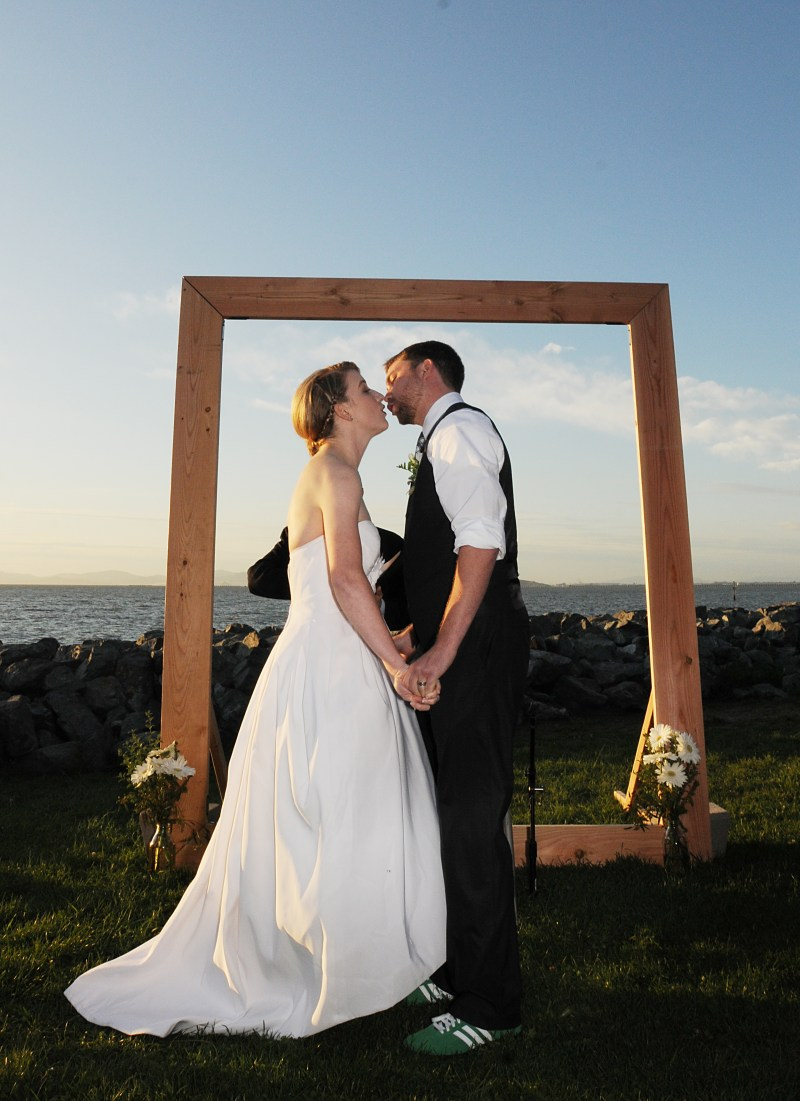 Build A Wedding Arch That Doubles As A Picture Frame