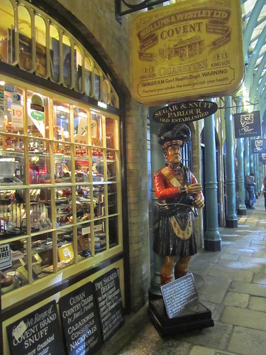 Old pipe shop, Covent Garden