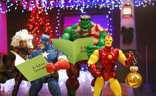 Merry Christmas Avengers Style