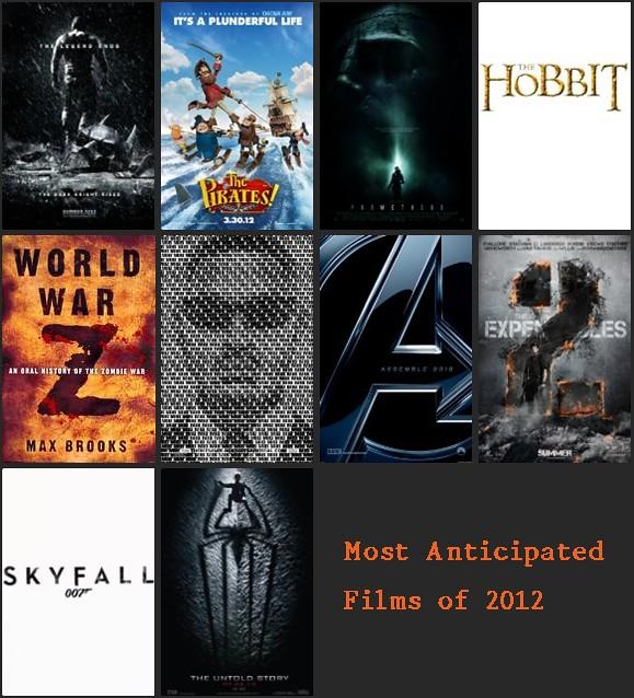 2012 movies