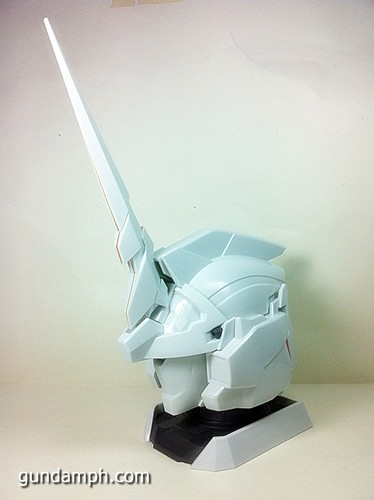 Banpresto Gundam Unicorn Head Display  Unboxing  Review (43)