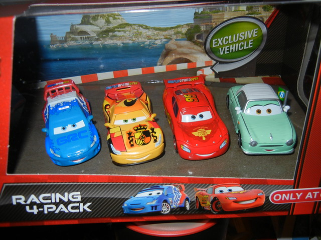 disney cars 2 target exclusive denise beam 4 pack (1)