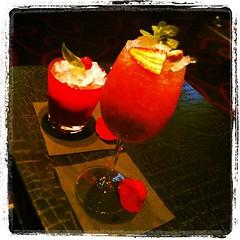 Cocktails at Joël Robouchon