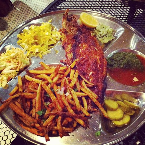 Bombay Fish and Chips