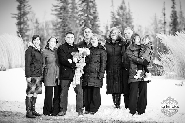 Family Photo Session at UNBC